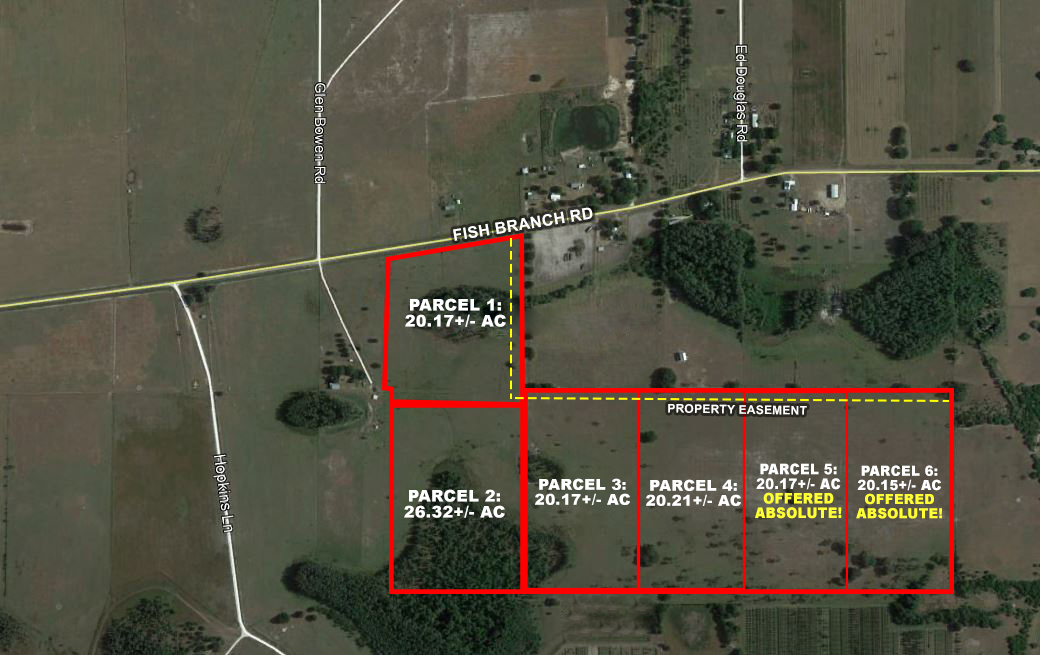 Fish Branch Acres In Hardee County