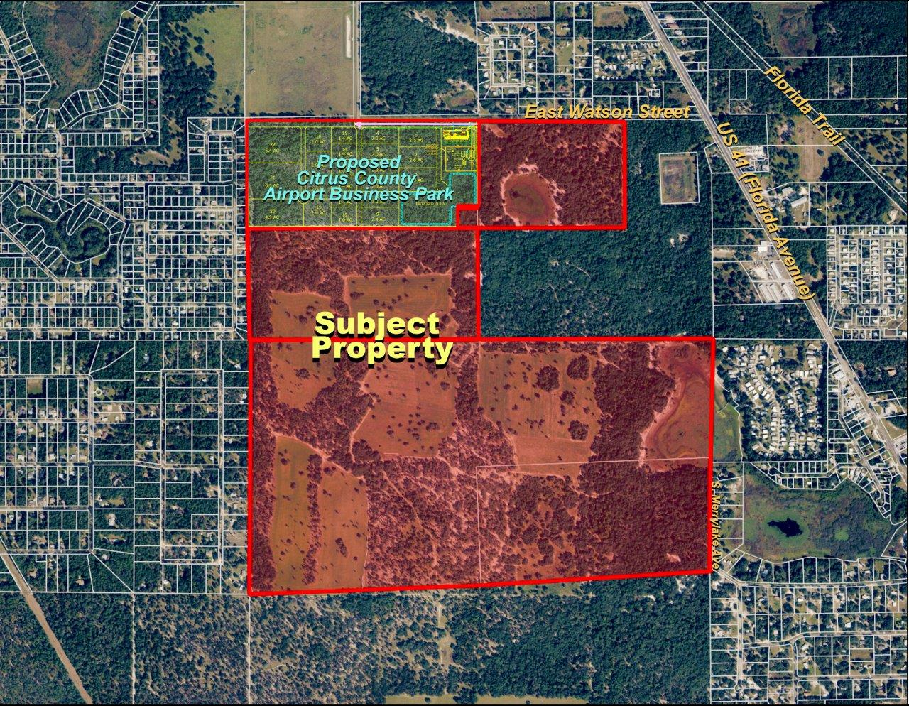 South Inverness MixedUse Acreage In Citrus County Florida - Florida map inverness