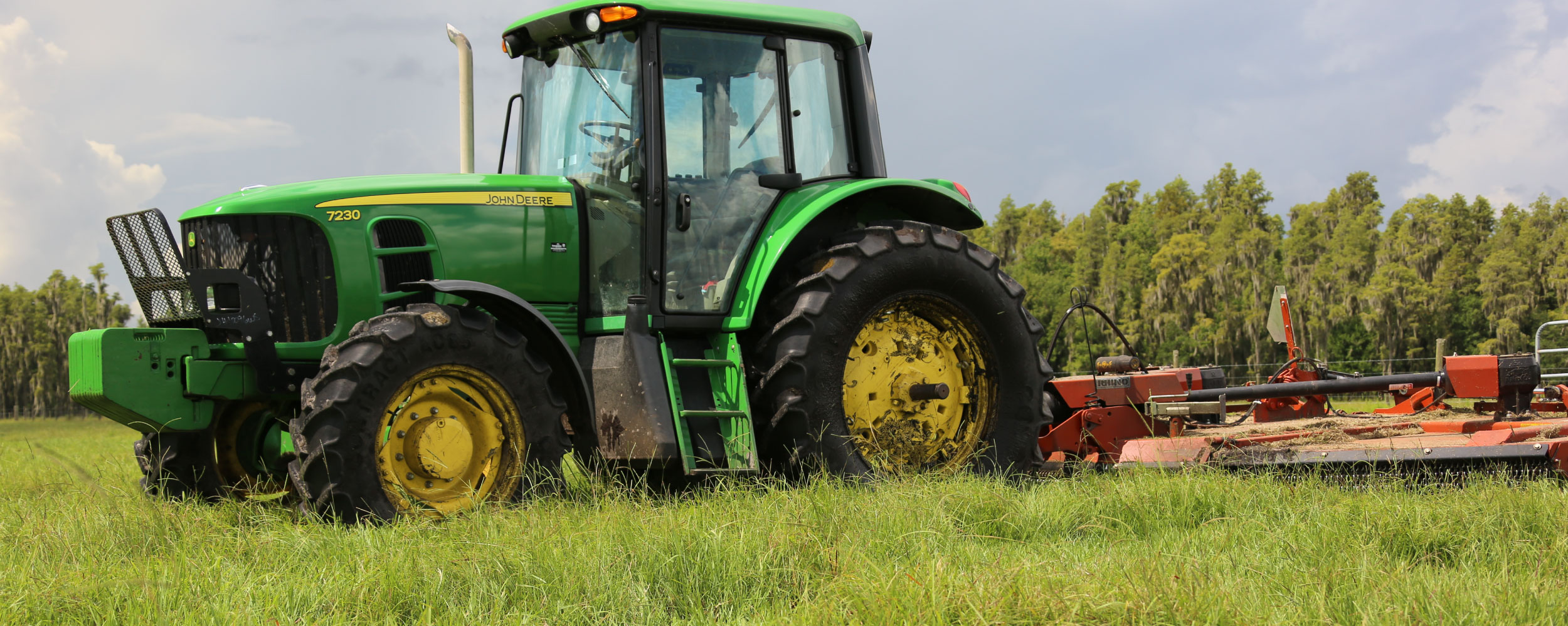 Photo of Tractor on Florida farm