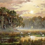 2010 Storks Egrets by Thomas Brooks