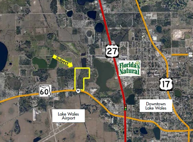 Map Of Us 27 In Florida.Us Highway 60 And Us Highway 27 In Lake Wales Florida Coldwell