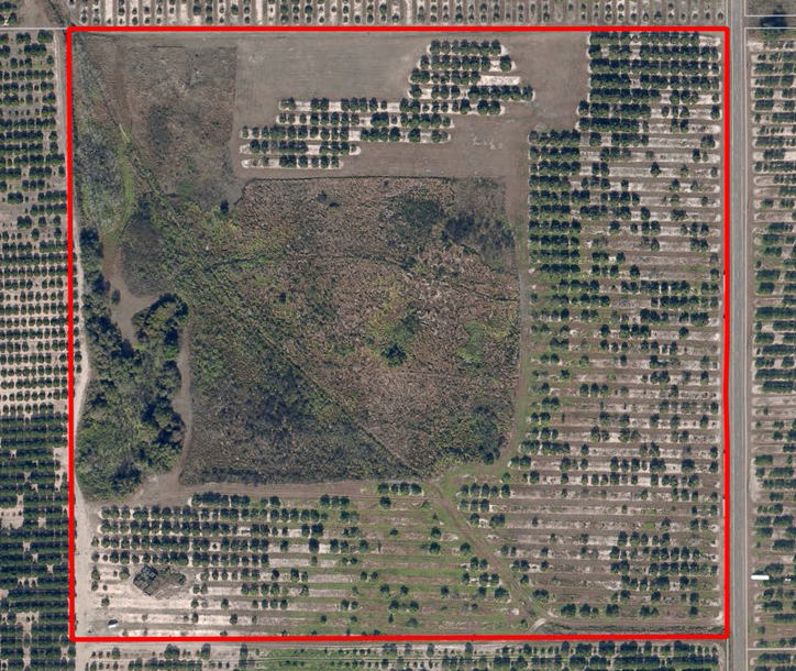 West Frostproof Acreage In Polk County Saunders Real Estate - Old-us-27-map