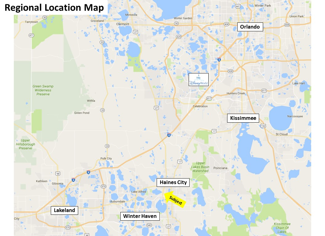Map Of Us 27 In Florida.Us Highway 27 At Scenic Highway In Haines City Florida Coldwell