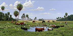 "2012 ""Cattle Pond"" Mike Nowak"