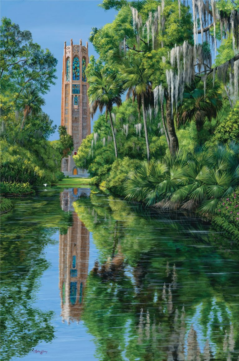 "2017 ""Reflections of Bok Tower"" Steven Koury"