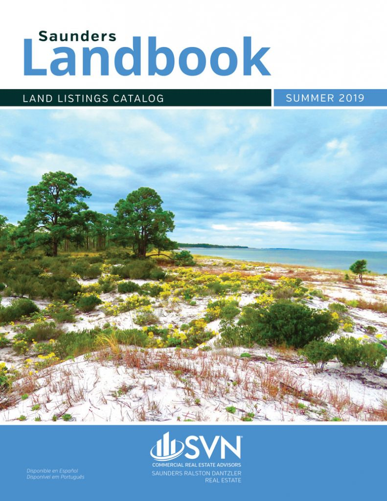 Cover of the Landbook Listings Catalog Summer 2019