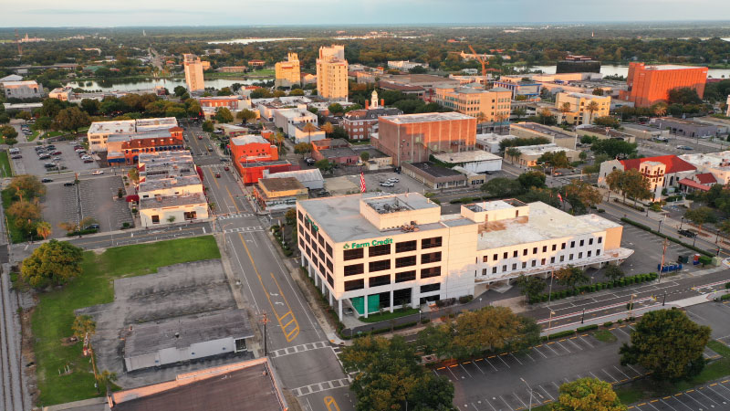 Photo of Farm Credit Building for Lease in Downtown Lakeland