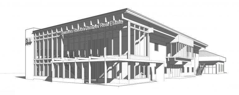 Artist rendering of the new SVN | Saunders Ralston Dantzler headquarters