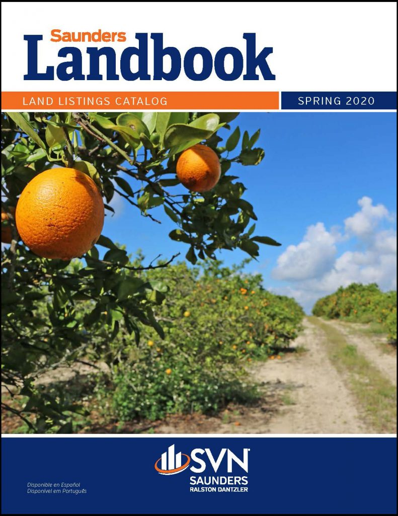 Cover image of the Spring 2020 Saunders Landbook Listings Catalog