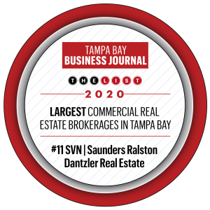 Tampa Bay Business Journal 2020 Top CRE badge