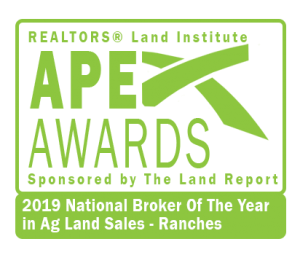 Image of Dean Saunders APEX Award 2019 Ranches Logo