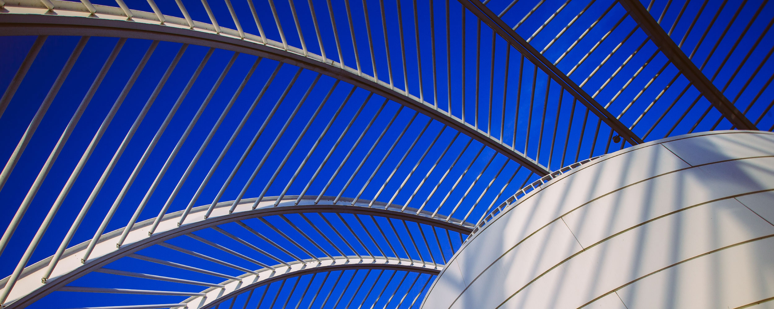 Photo of rafters at the science building at Florida Polytechnic