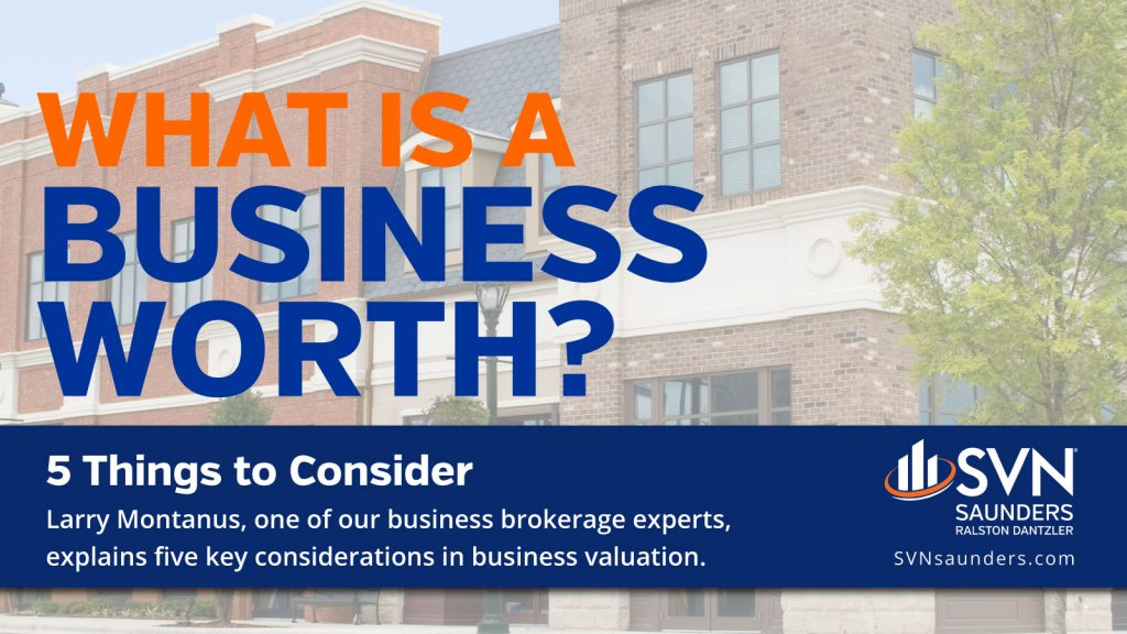 Graphic for article What is a business worth?