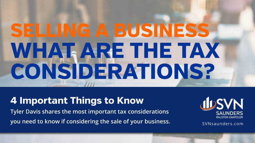 Graphic for What are the tax considerations article
