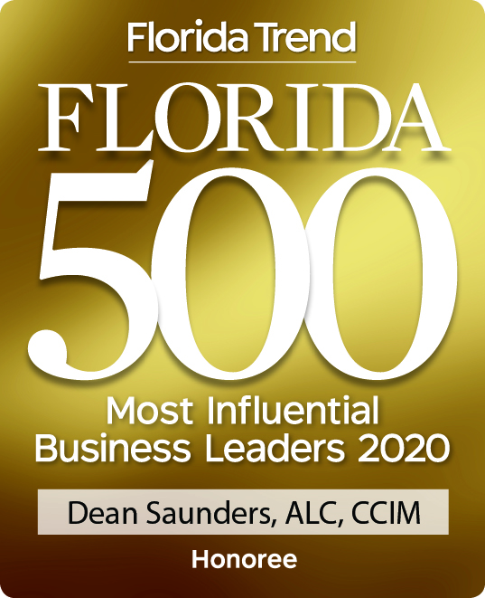 Dean Saunders Florida 500 2020 Badge