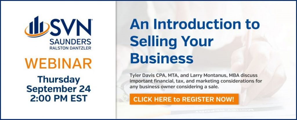 An Introduction to Selling Your Business Webinar Slides