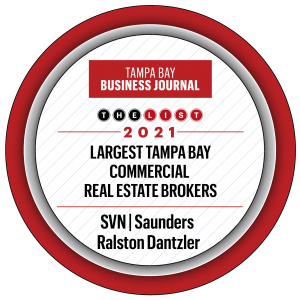Badge Award for Tampa Bay Business Journal List 2021