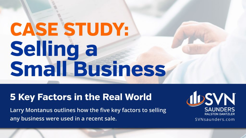 Image to link to case study article on selling a small business