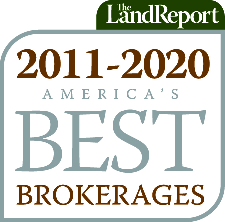 Logo for The Land Report America's Best Brokerages