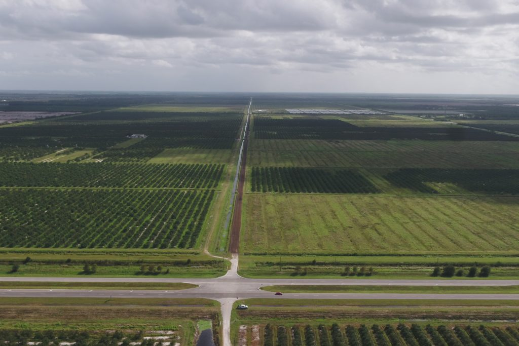 Indian River West South Aerial