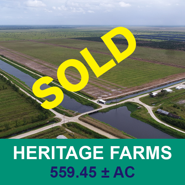 Sold at real estate auction- Heritage Farms - Florida Ag