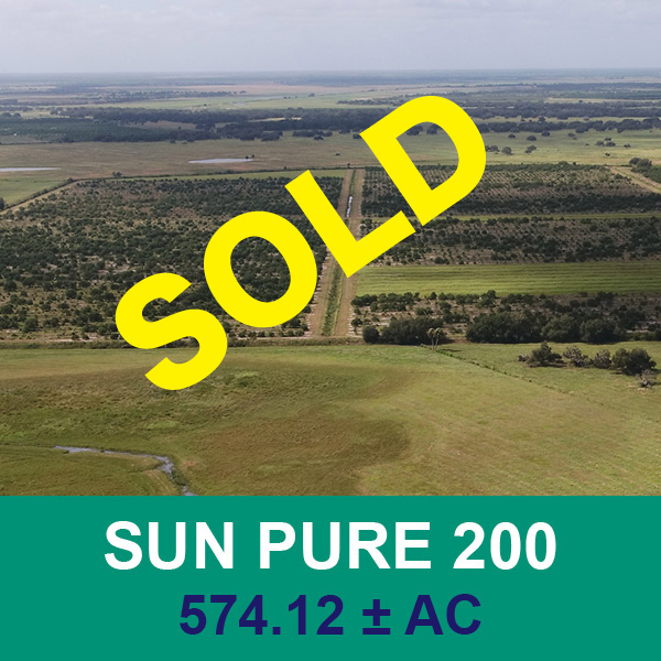 Sold at real estate auction - Sun Pure 200 - Florida Ag