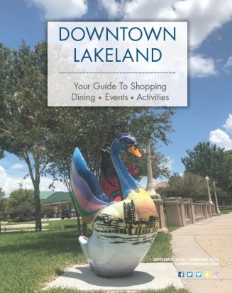 Cover of the Downtown Lakeland Visitors Guide